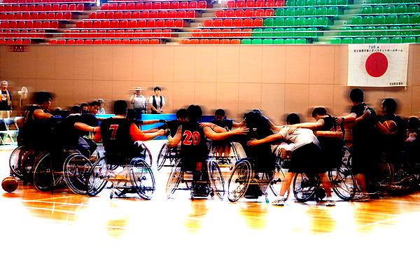ガンバレ男女車椅子バスケ日本代表!