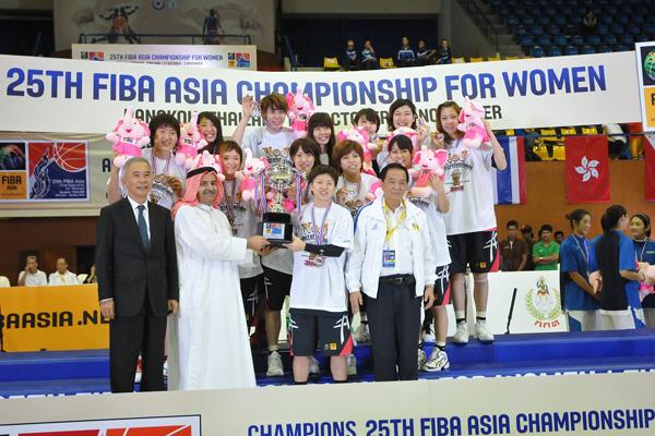アジアの頂点を目指して強化してきたハヤブサジャパン女子日本代表が有言実行でアジアを制す!