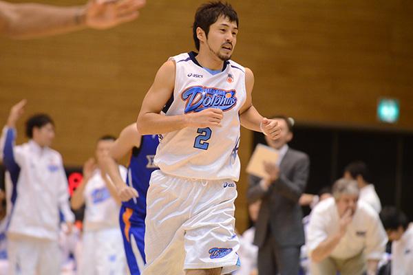 三菱電機ダイヤモンドドルフィンズ名古屋#2朝山 正悟選手