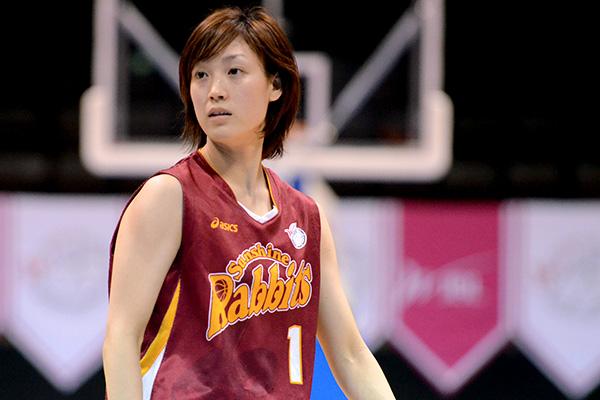 トヨタ紡織サンシャインラビッツ#1岡田 麻央選手