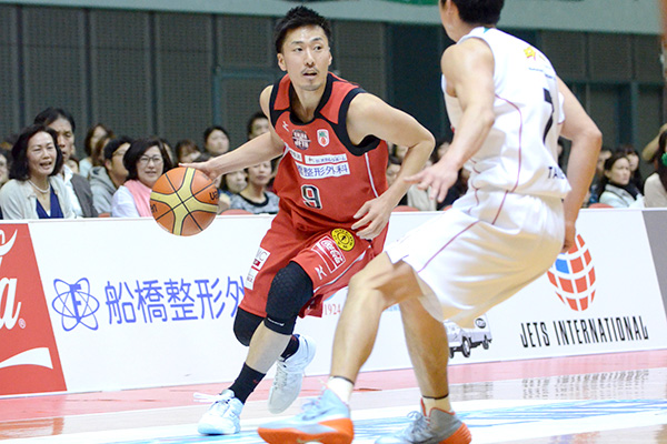 千葉ジェッツ#9田中健介選手
