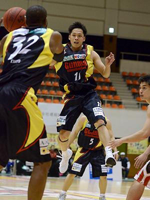 群馬クレインサンダーズ#11岡田 慎吾選手
