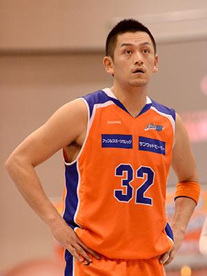 新潟アルビレックスBB#32池田 雄一選手