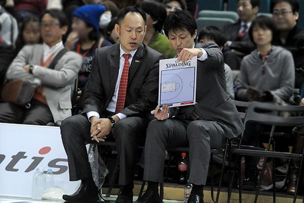 日本代表コンビがオールスターゲームで復活(TK bjリーグ/チームWEST ...