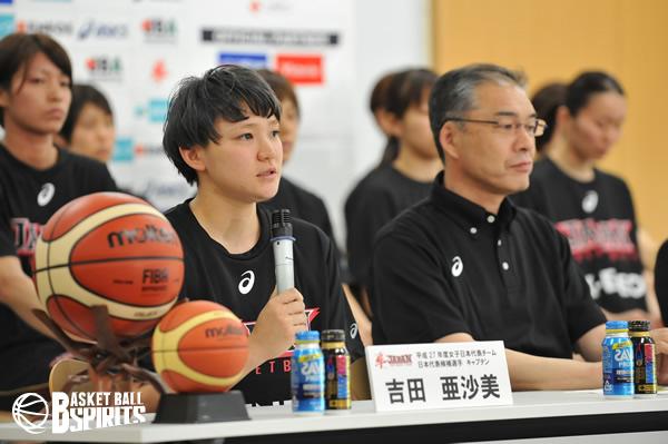 新キャプテン・吉田亜沙美
