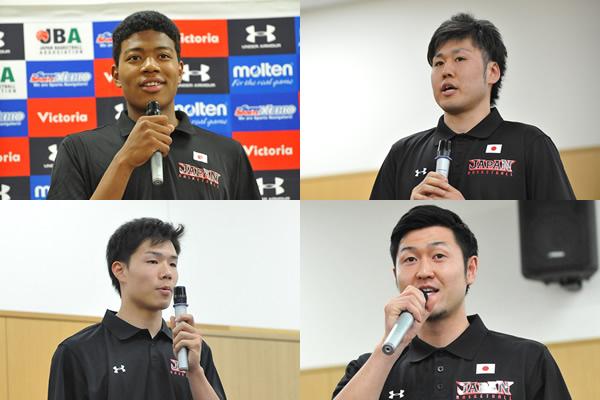 平成27年度男子ハヤブサジャパン始動! 初選出の4選手に聞く