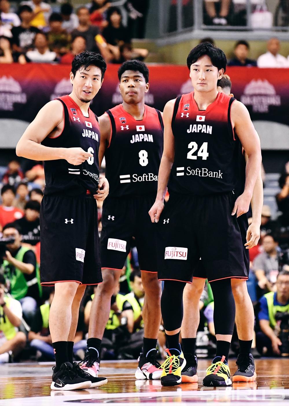 代表 バスケ 日本 バスケ男子 東京五輪日本代表候補20人を発表