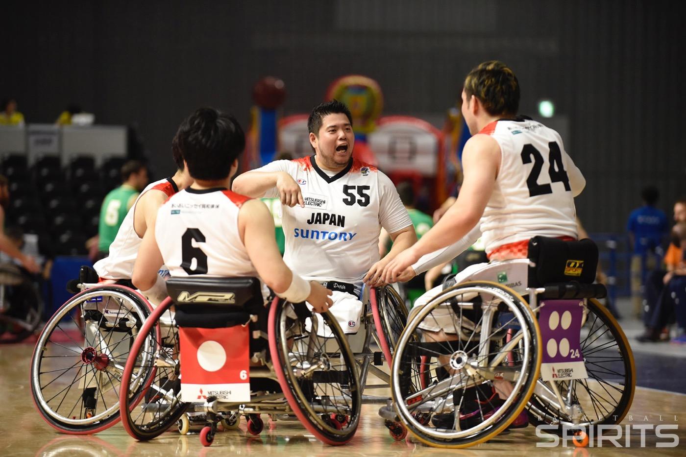 車椅子 バスケ 日本 代表